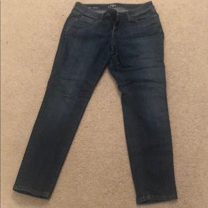 Modern skinny petite loft jeans